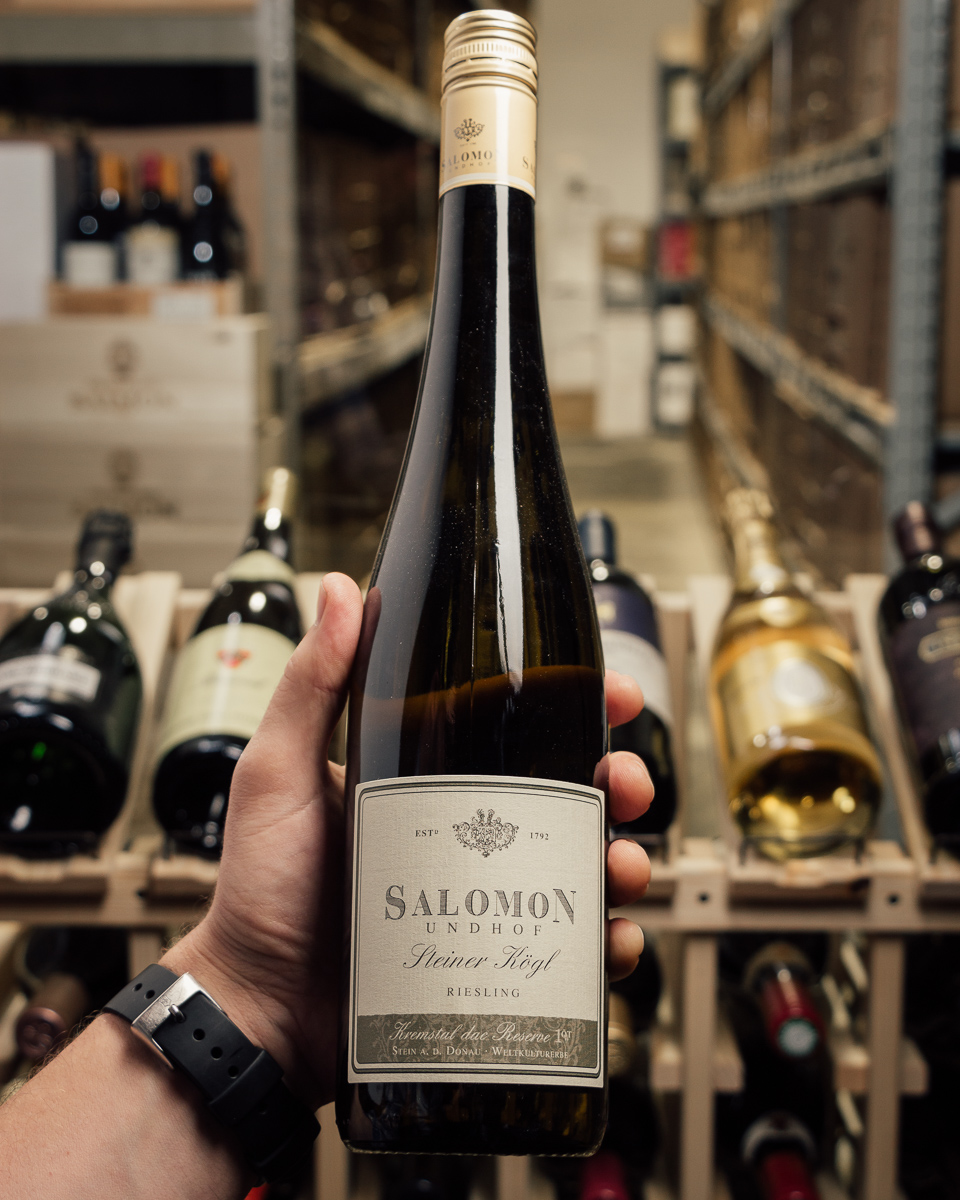 Salomon-Undhof Riesling Steiner Kogl Reserve 2013  - First Bottle