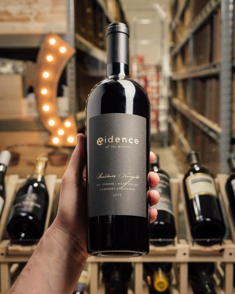 Evidence Cabernet Sauvignon Mt. Veeder 2017  - First Bottle