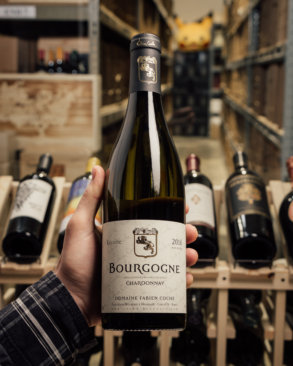 Fabien Coche Bourgogne Blanc 2016  - First Bottle