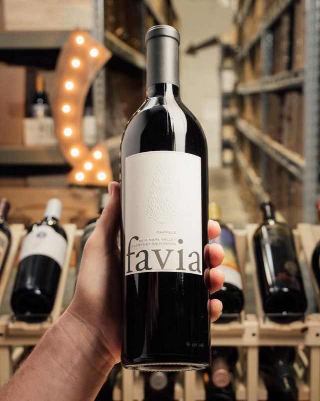 Favia Cabernet Sauvignon Oakville 2016  - First Bottle