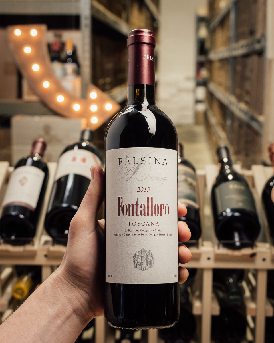 Felsina Fontalloro Tuscany IGT 2013  - First Bottle