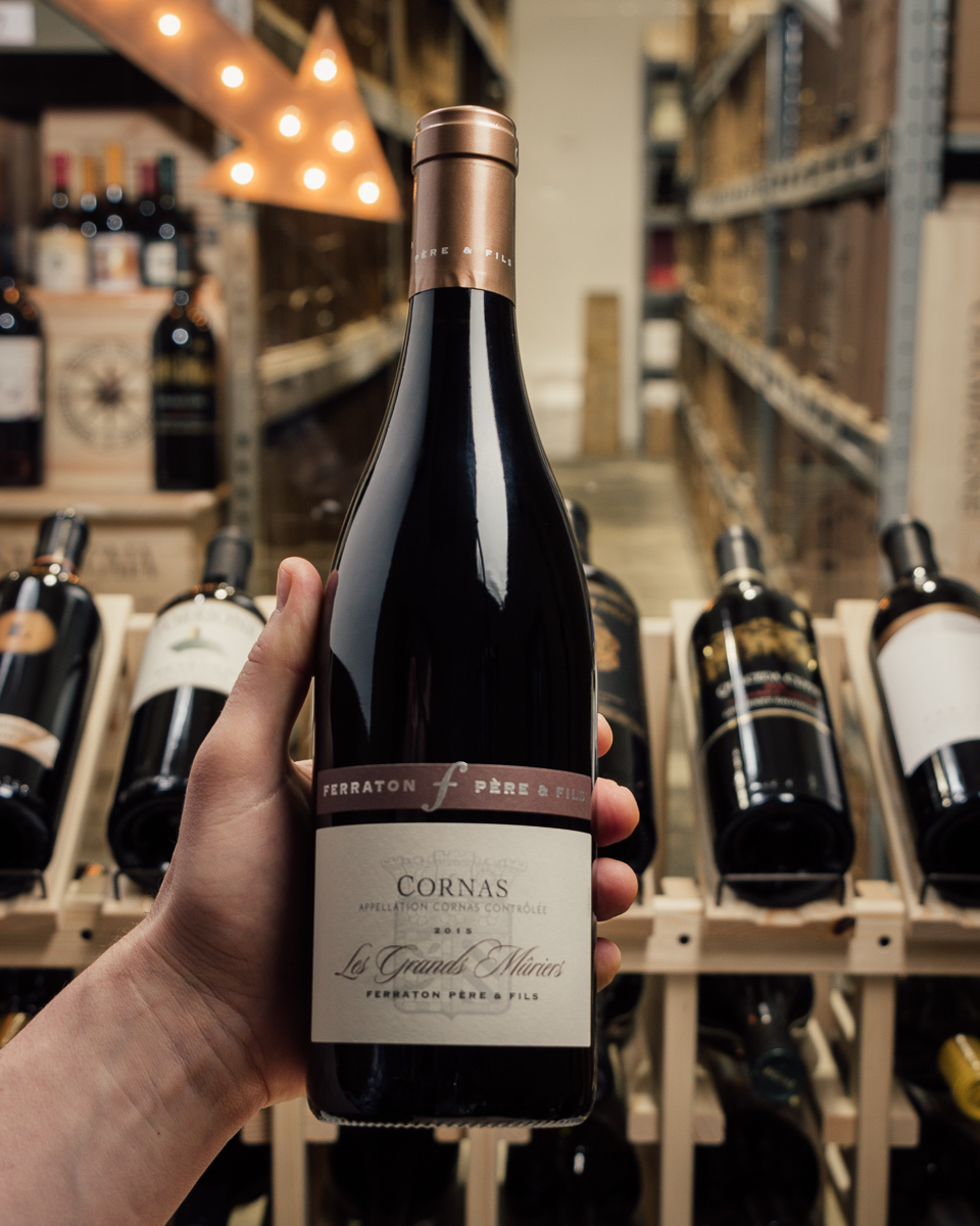 Ferraton Cornas Les Grands Muriers 2015  - First Bottle