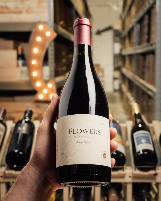 Flowers Pinot Noir Seaview Ridge 2016  - First Bottle