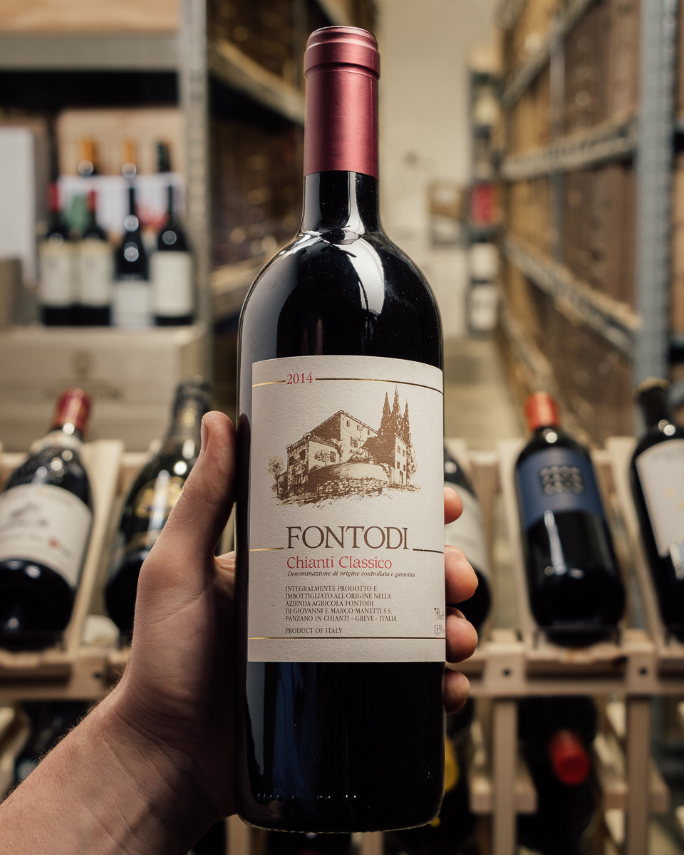 Fontodi Chianti Classico 2014  - First Bottle
