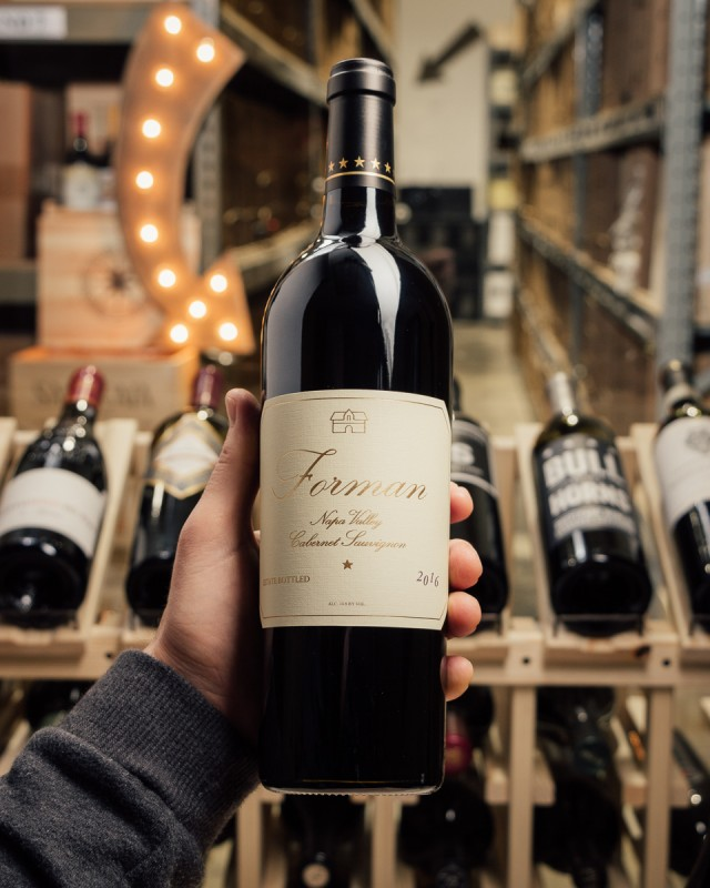 Forman Cabernet Sauvignon Napa Valley 2016  - First Bottle