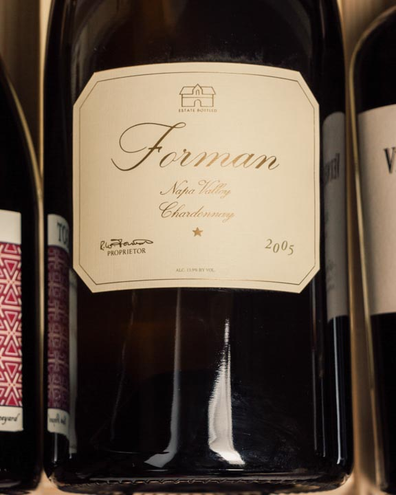 Forman Chardonnay 2005 (Double Magnum - 3L)  - First Bottle