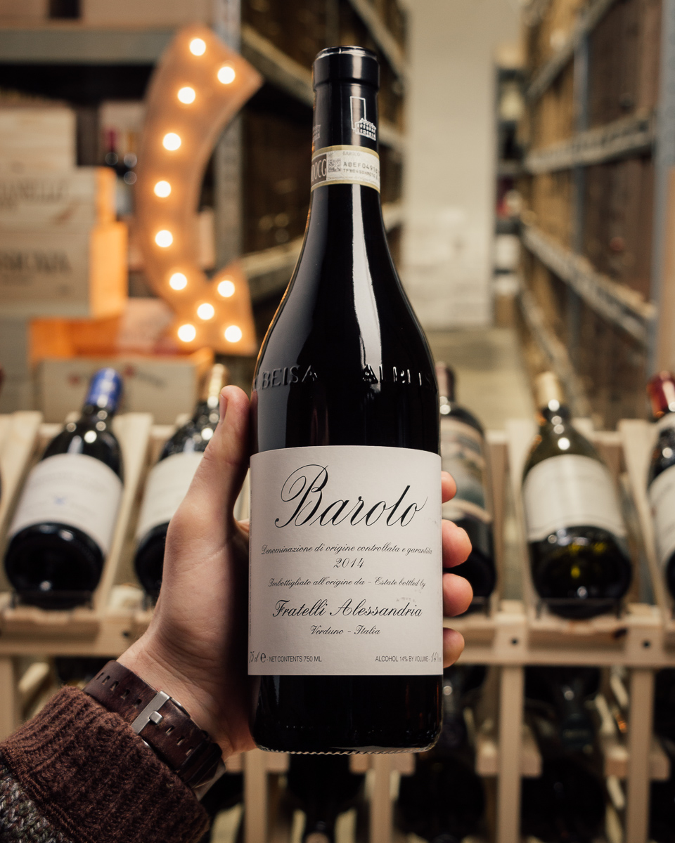Fratelli Alessandria Barolo 2014  - First Bottle