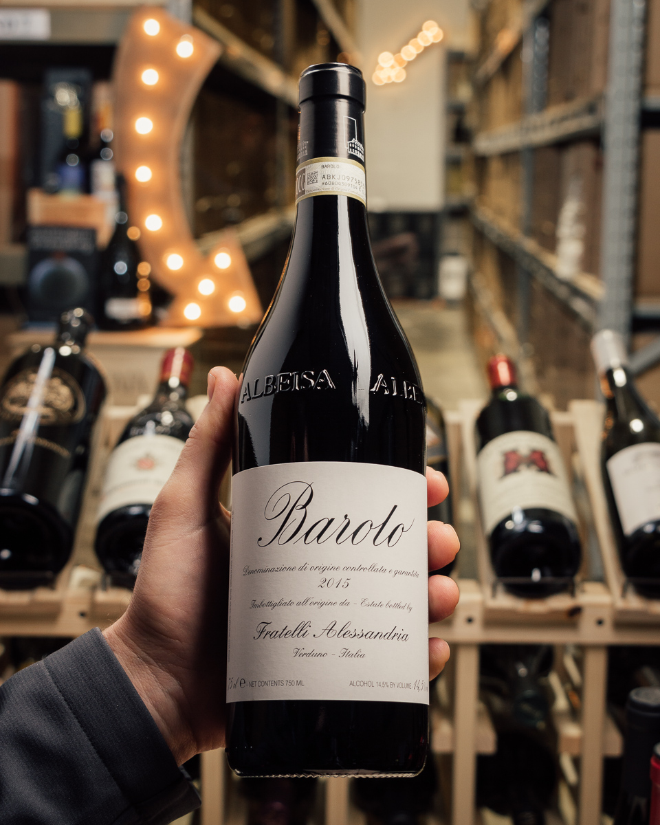 Fratelli Alessandria Barolo 2015  - First Bottle