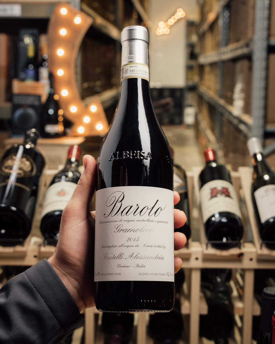 Fratelli Alessandria Barolo Gramolere 2015  - First Bottle
