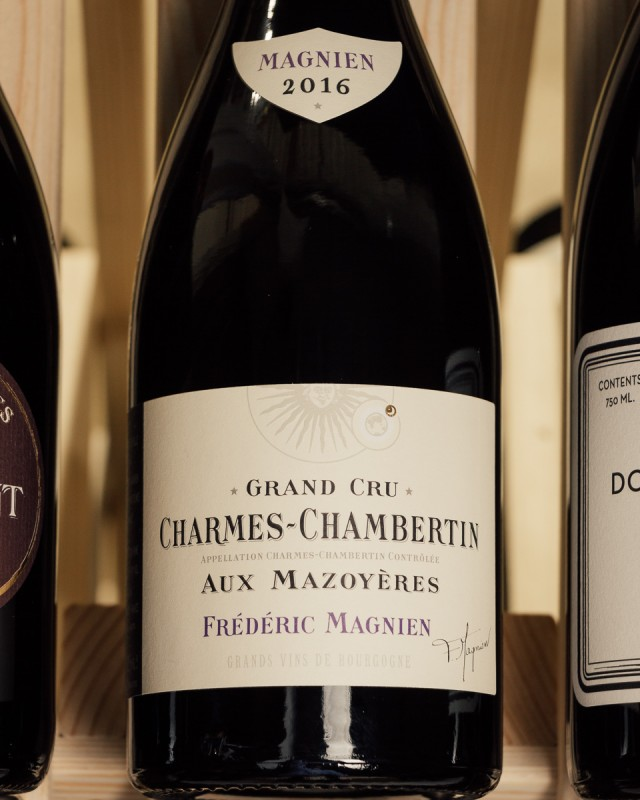Frederic Magnien Charmes-Chambertin aux Mazoyeres Grand Cru 2016  - First Bottle