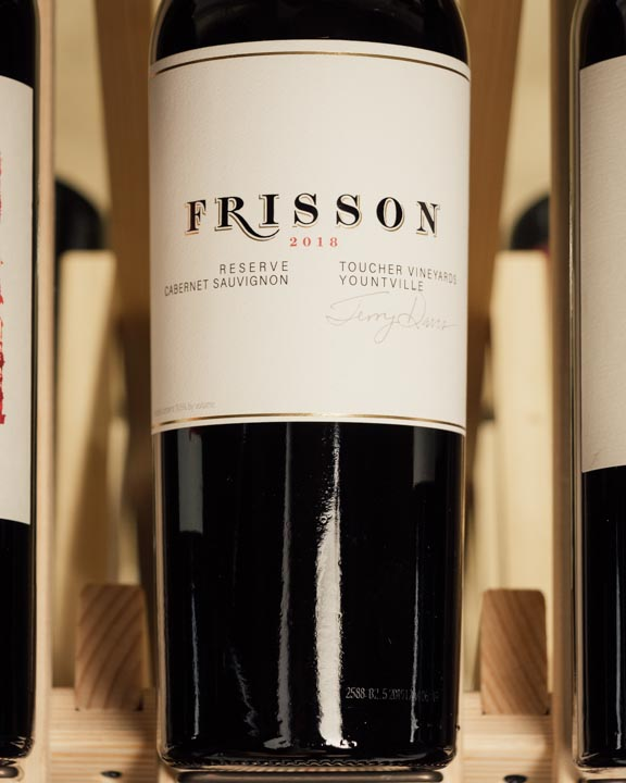 Frisson Cabernet Sauvignon Reserve Toucher Vineyard Yountville 2018