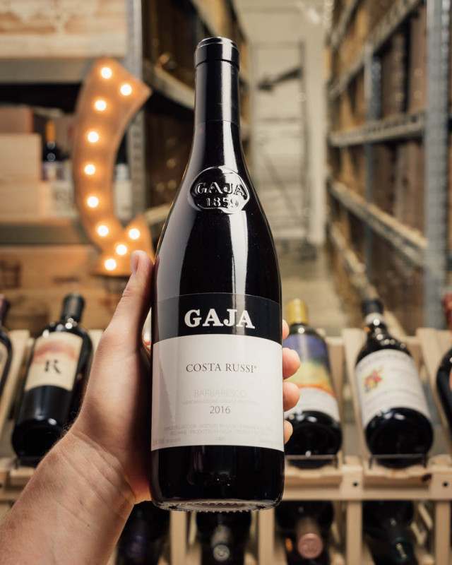 Gaja Barbaresco Costa Russi 2016  - First Bottle
