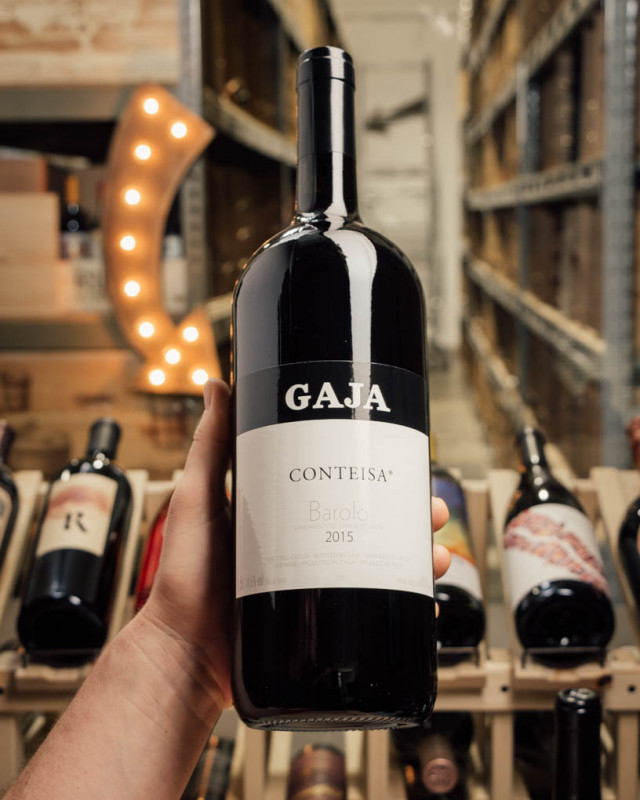Gaja Barolo Conteisa 2015 (Magnum 1.5L)  - First Bottle