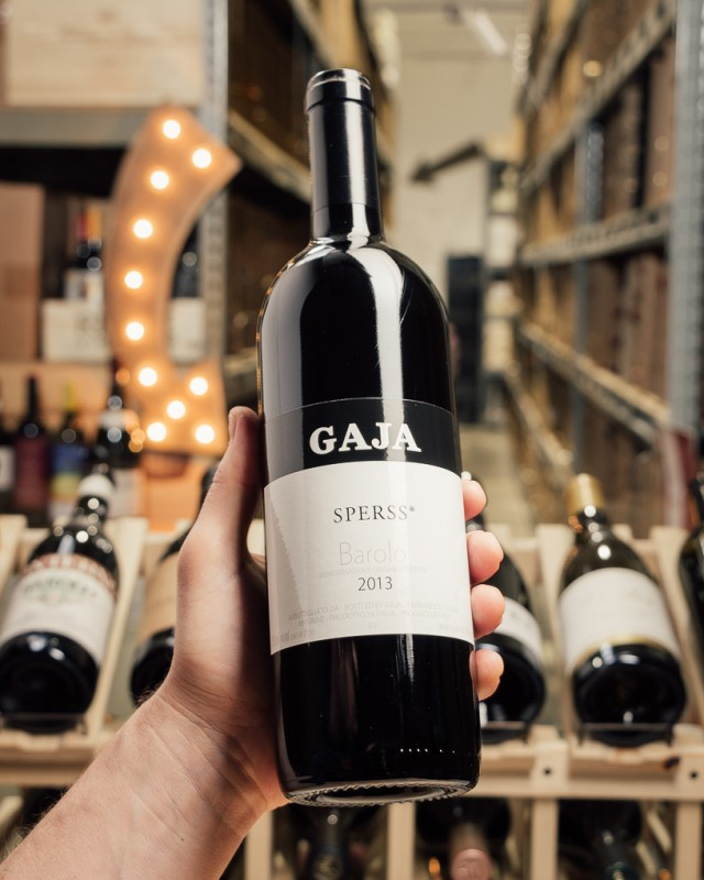 Gaja Barolo Sperss 2013  - First Bottle