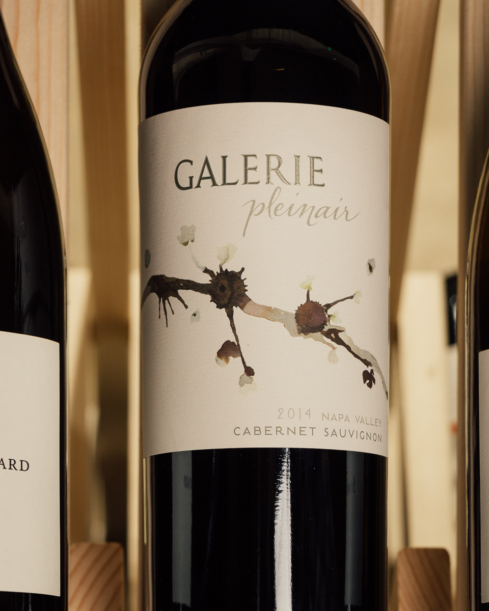 Galerie Cabernet Sauvignon Pleinair Napa Valley 2014  - First Bottle