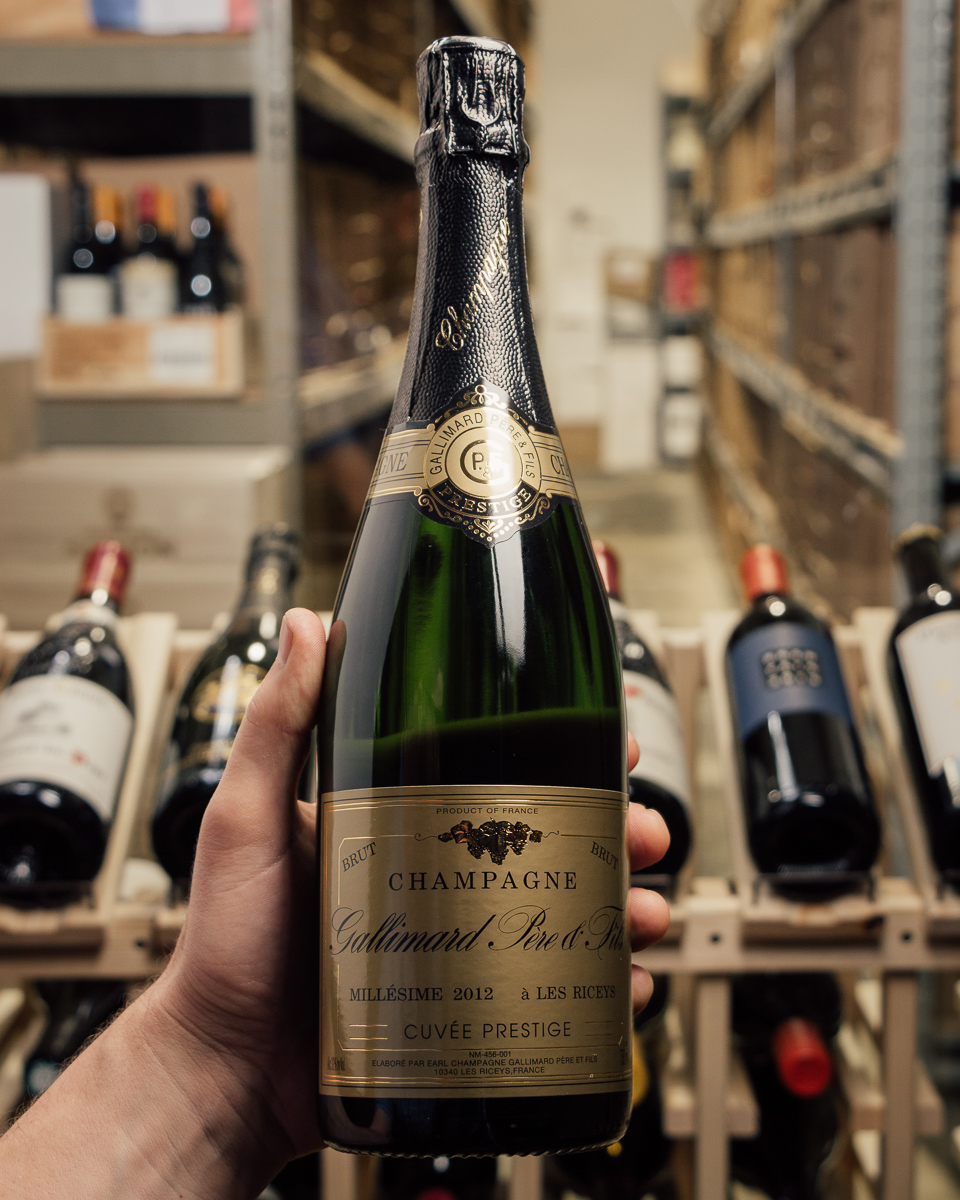 Gallimard Cuvee de Prestige 2012  - First Bottle