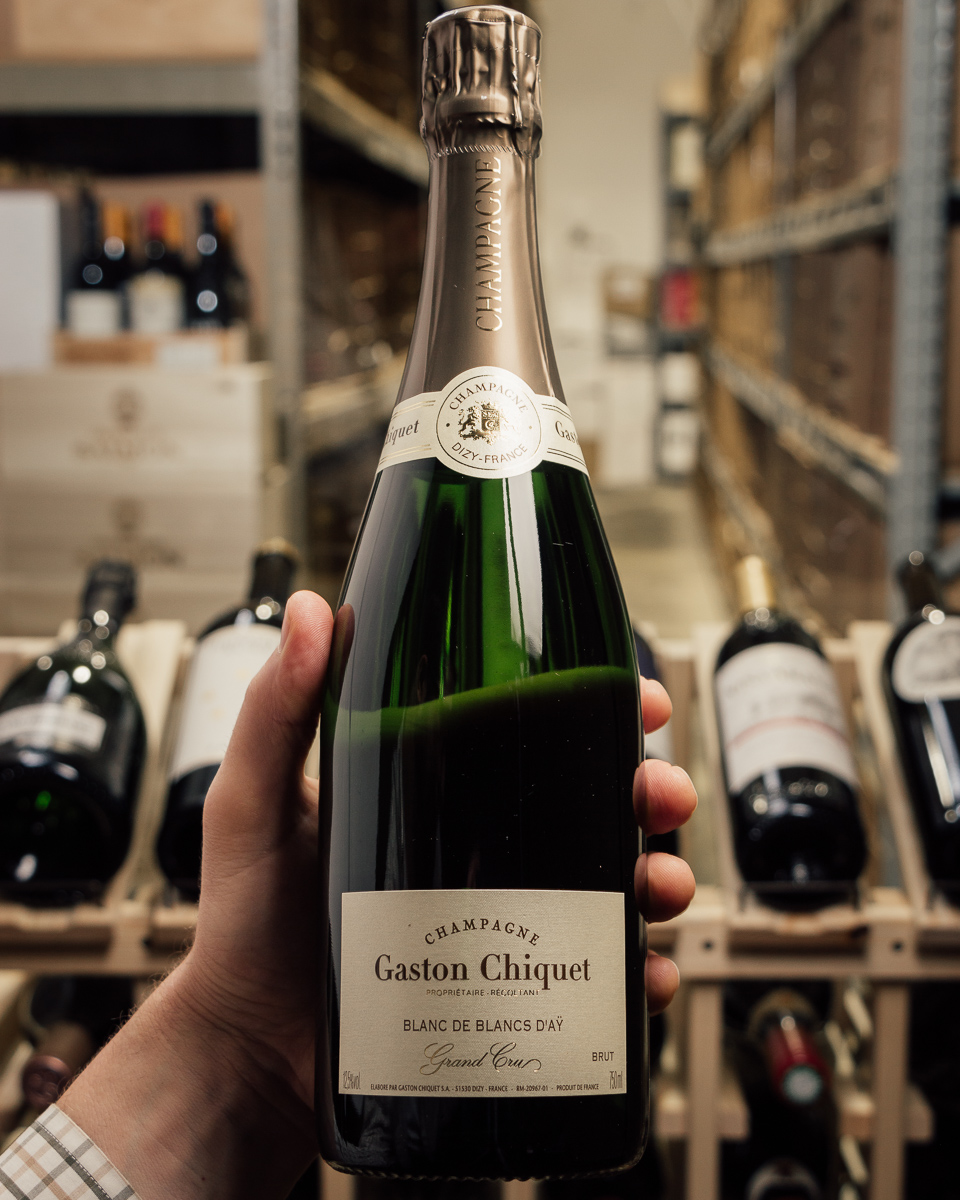 Gaston Chiquet Blanc de Blancs d'Ay Grand Cru Brut NV  - First Bottle
