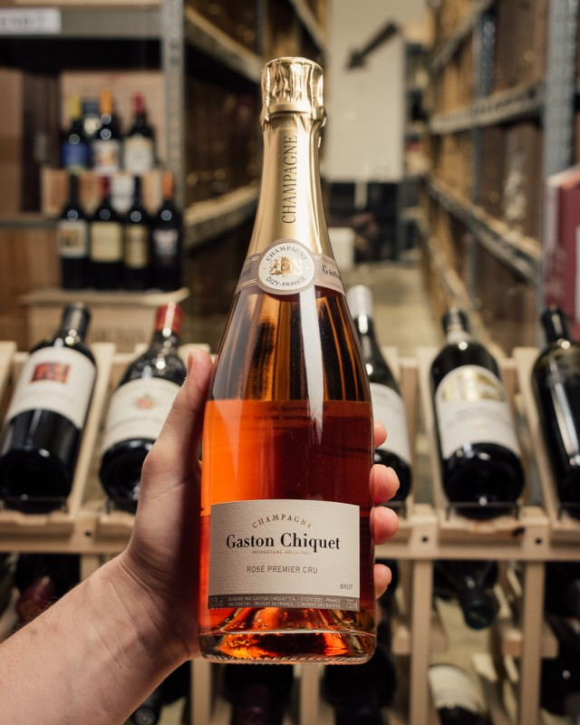 Gaston Chiquet Brut Rose Premier Cru NV  - First Bottle