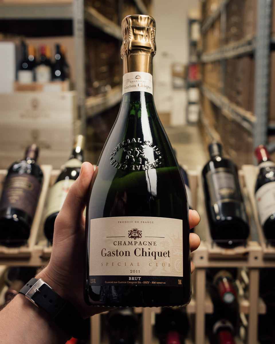 Gaston Chiquet Brut Special Club 2011  - First Bottle