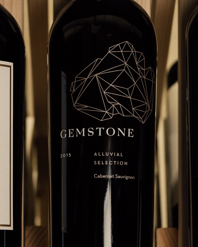 Gemstone Cabernet Sauvignon Estate Alluvial Selection 2015