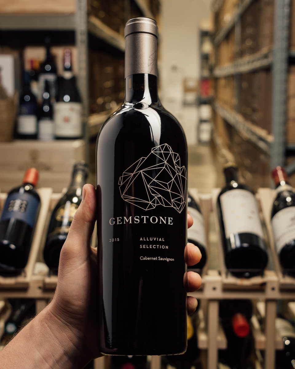 Gemstone Cabernet Sauvignon Estate Alluvial Selection 2015  - First Bottle