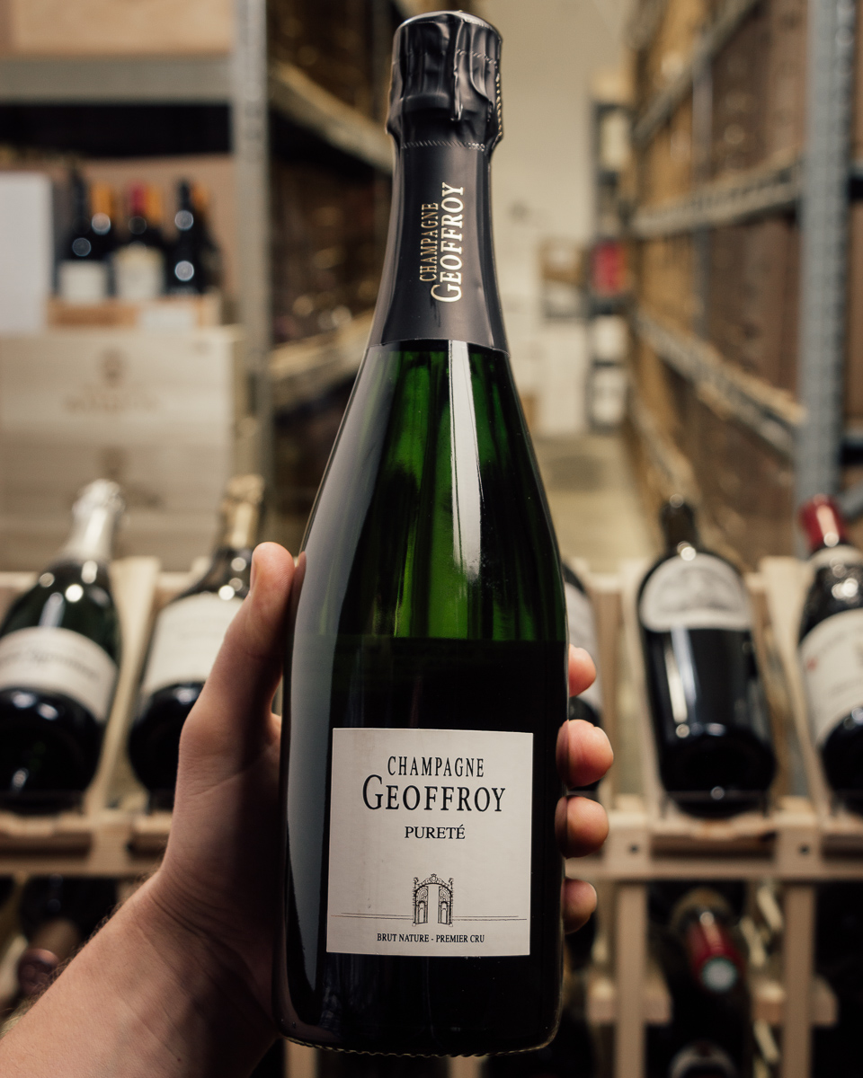 Geoffroy Brut Nature Purete 1er Cru NV  - First Bottle