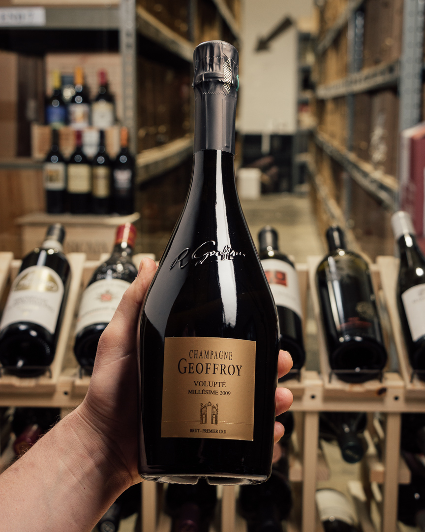 Geoffroy Brut Volupte Premier Cru 2009  - First Bottle