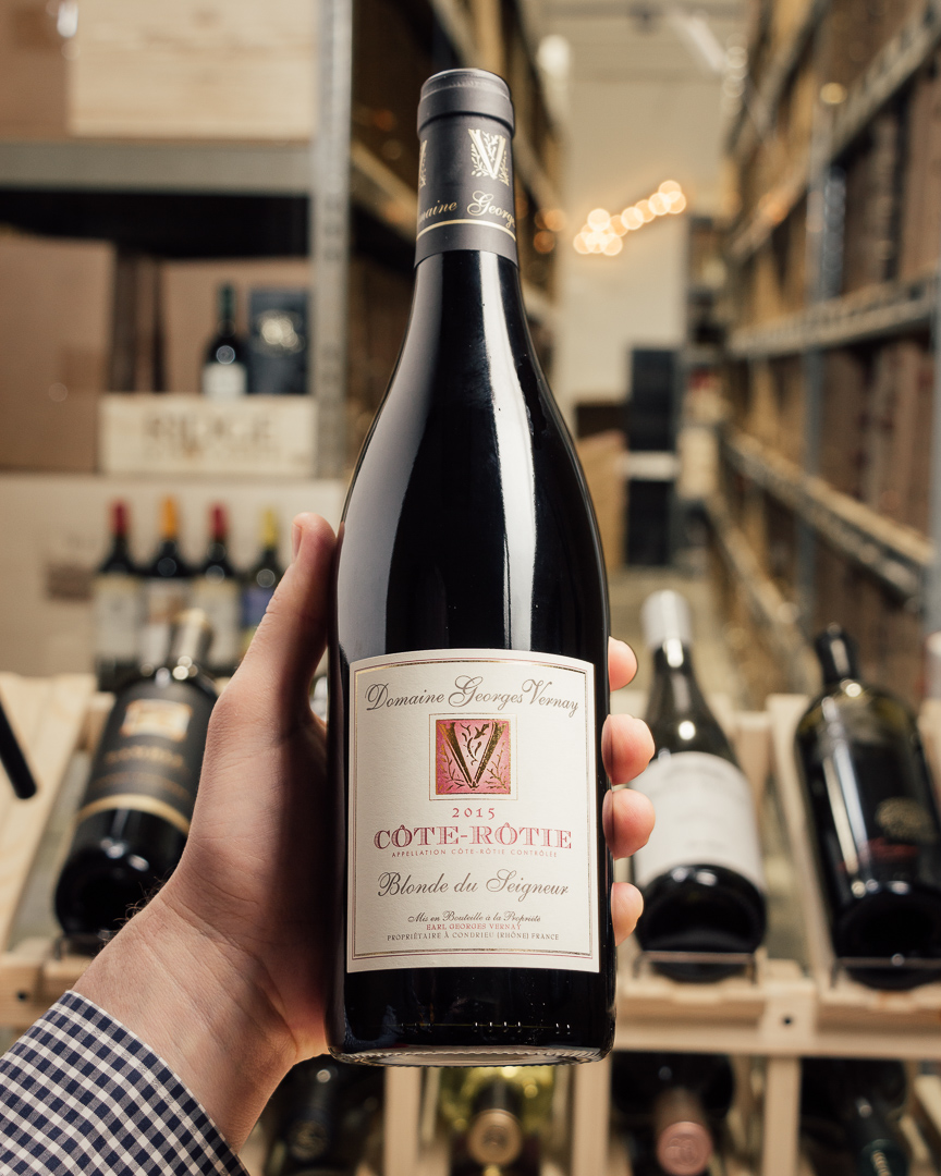 Georges Vernay Cote Rotie Blonde de Seigneur 2015  - First Bottle