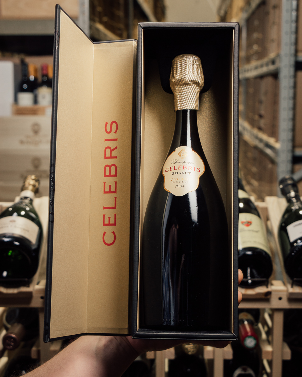 Gosset Extra Brut Celebris 2004  - First Bottle