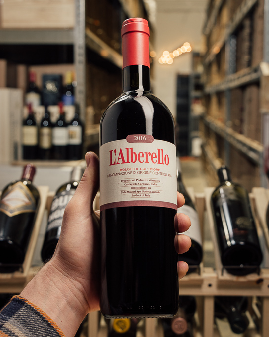 Grattamacco L`Alberello Bolgheri Superiore 2016  - First Bottle