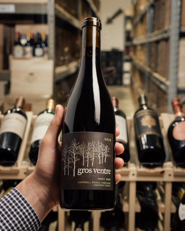 Gros Ventre Pinot Noir Campbell Ranch 2016  - First Bottle