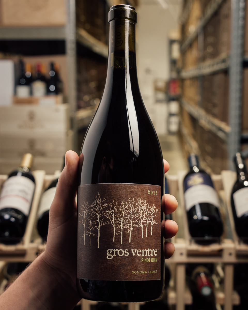 Gros Ventre Pinot Noir Sonoma Coast 2015  - First Bottle