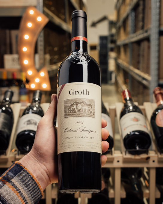 Groth Cabernet Sauvignon Reserve 2016  - First Bottle
