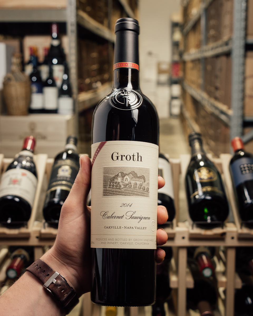 Groth Cabernet Sauvignon Reserve Oakville 2014  - First Bottle