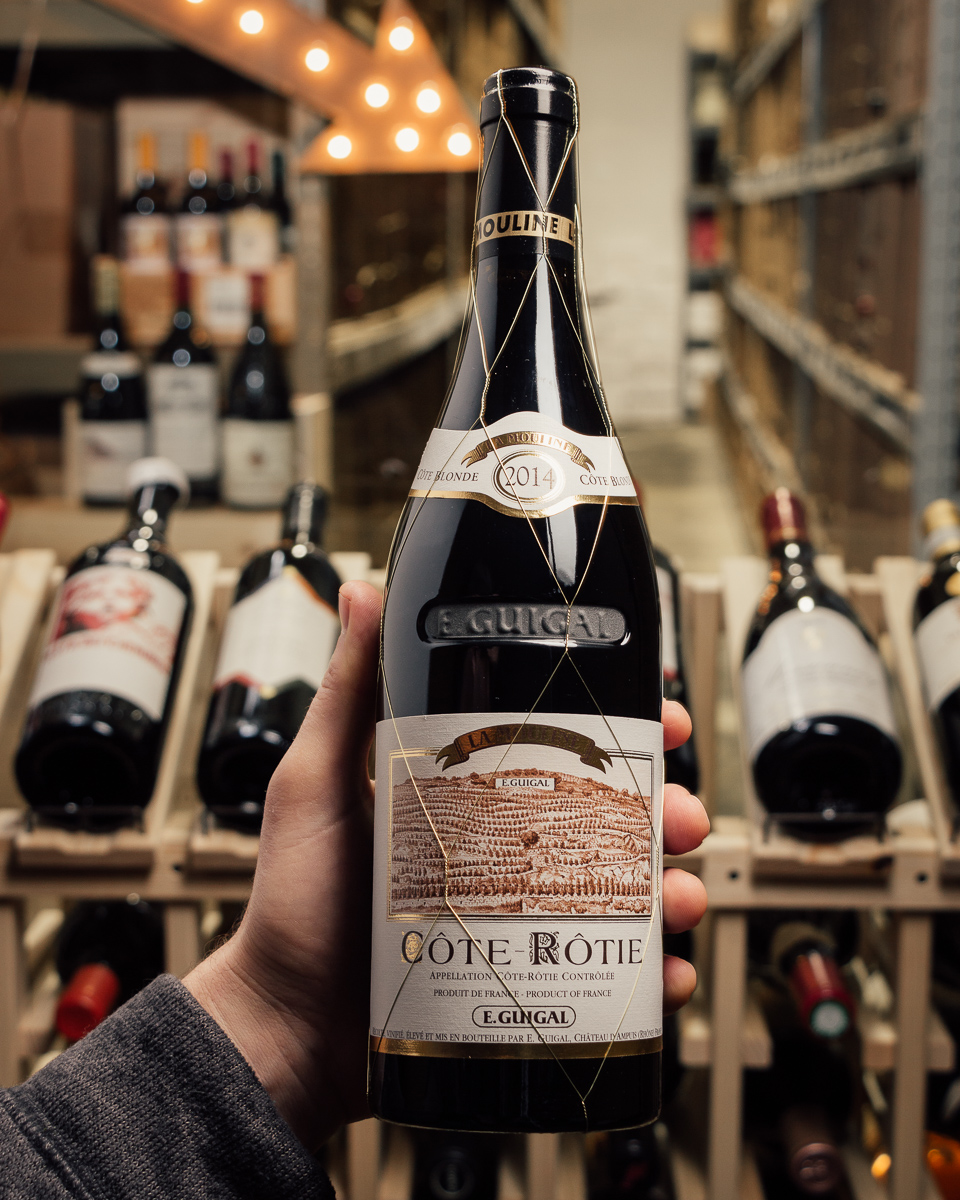 Guigal Cote Rotie La Mouline 2014  - First Bottle