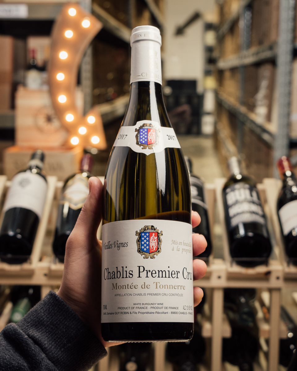 Guy Robin Chablis Monte de Tonnerre 1er Cru 2017  - First Bottle