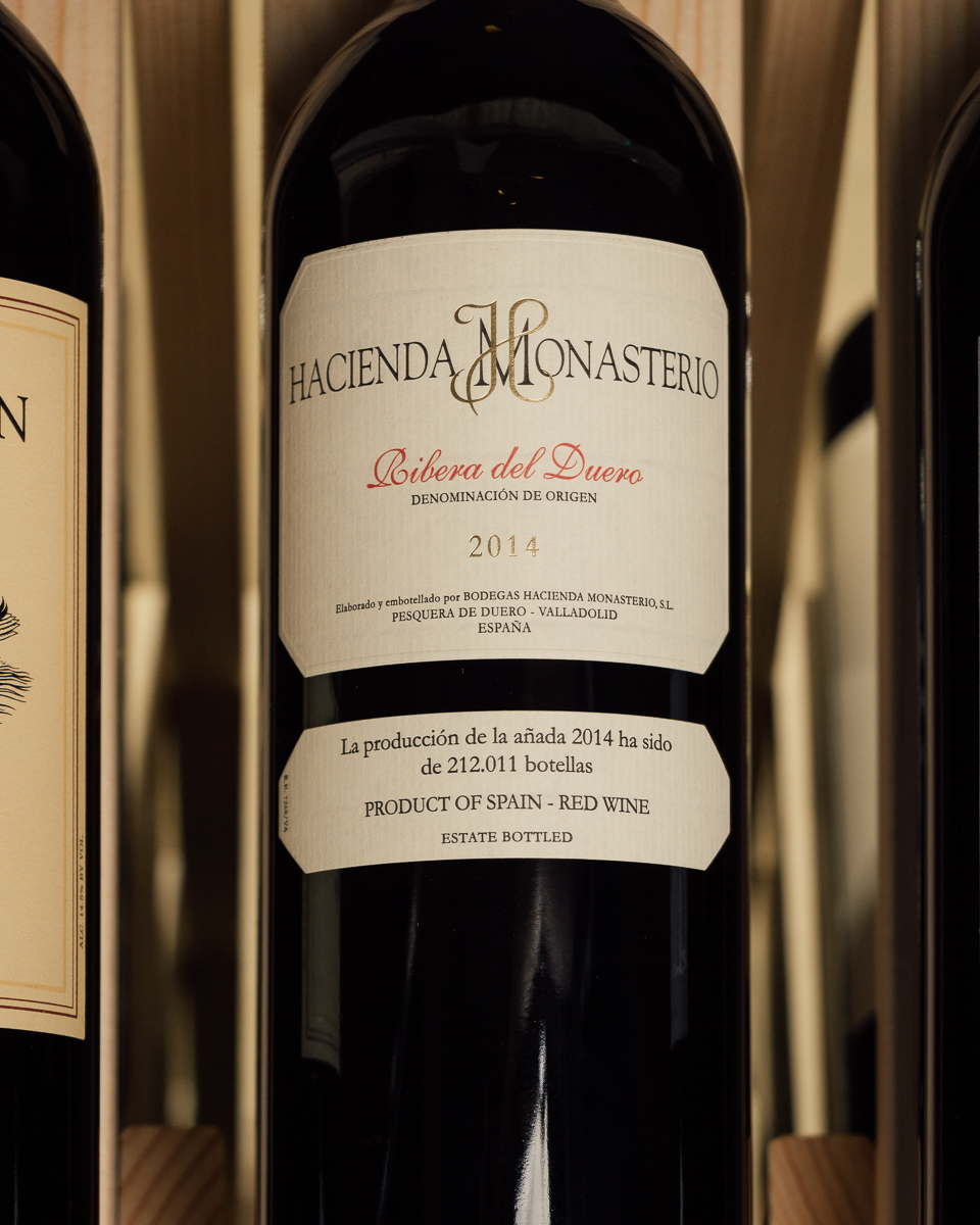 Hacienda Monasterio Ribera del Duero 2014  - First Bottle