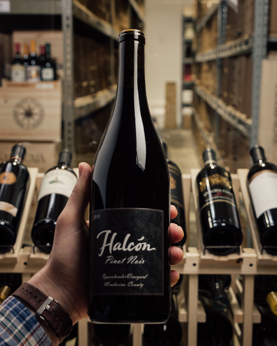 Halcon Pinot Noir Oppenlander 2016  - First Bottle