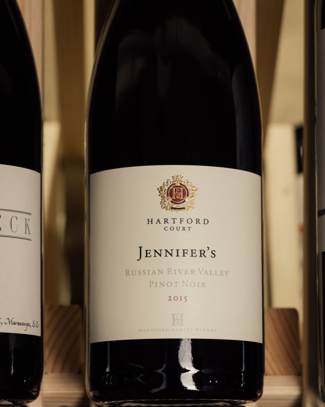 Hartford Court Pinot Noir Jennifer`s Marshall Vineyard 2015