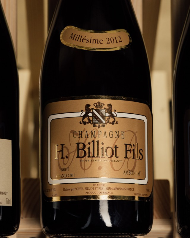 Henri Billiot et Fils Brut Grand Cru 2012