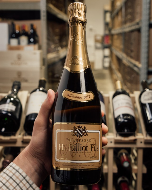 Henri Billiot et Fils Brut Grand Cru 2012  - First Bottle