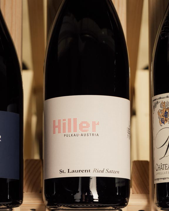 Hiller St. Laurent Ried Satzen 2017  - First Bottle