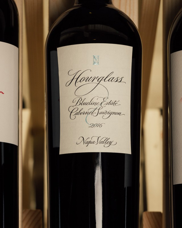 Hourglass Blueline Estate Cabernet Sauvignon Napa Valley 2016