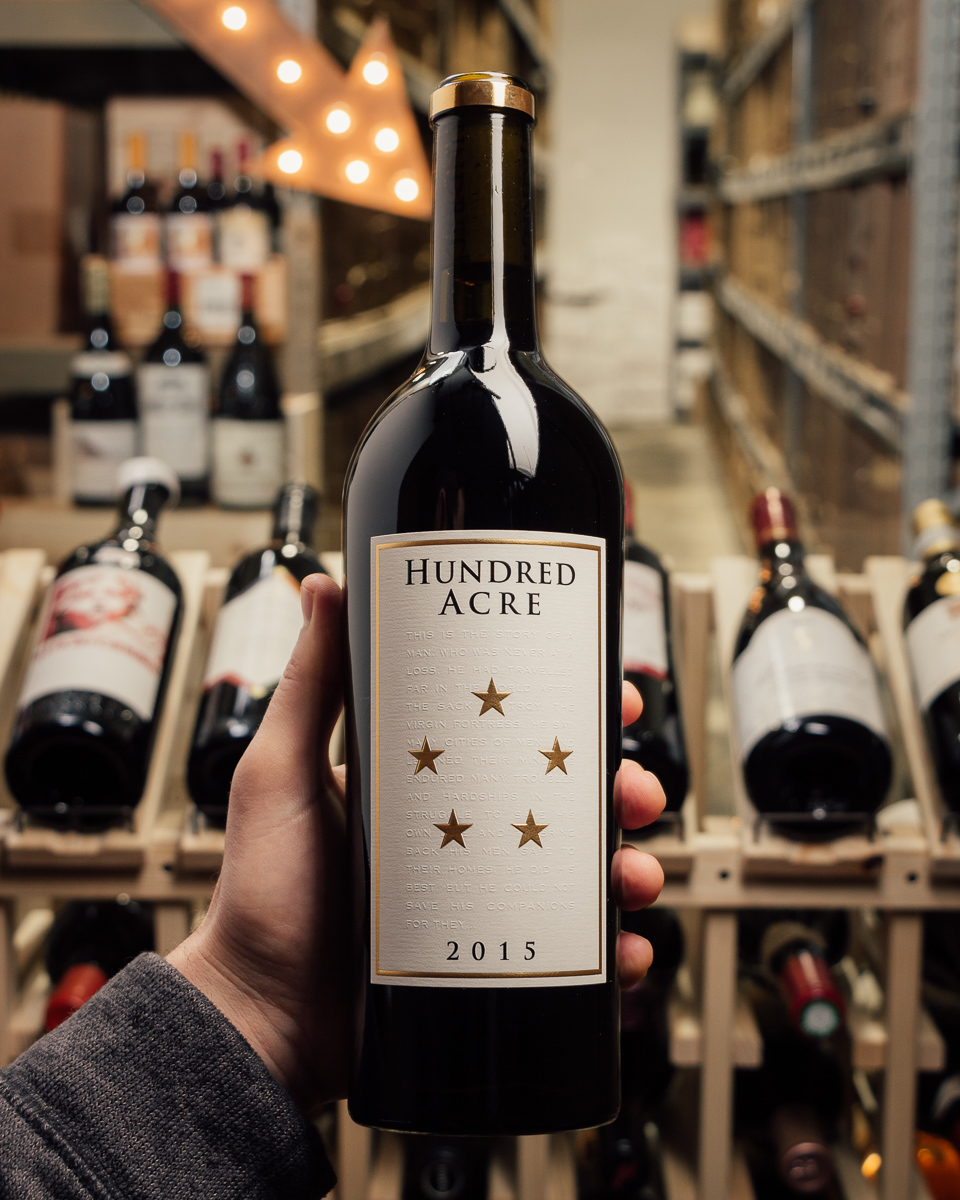 Hundred Acre Cabernet Sauvignon Ark 2015   - First Bottle