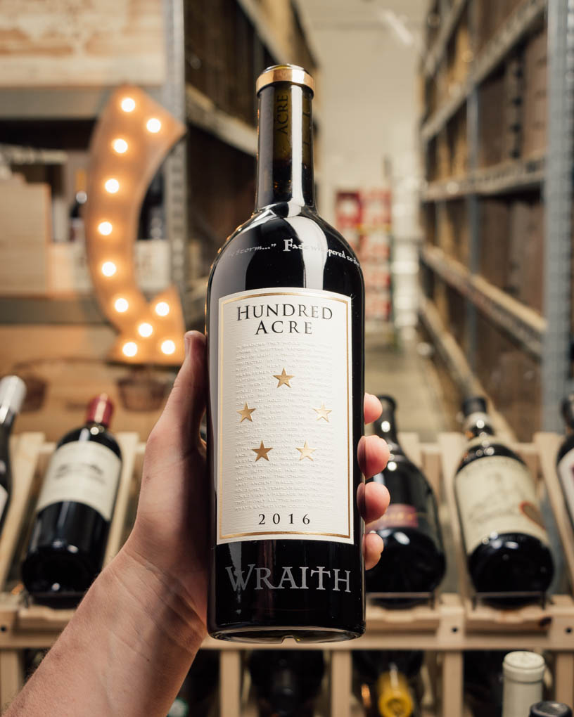 Hundred Acre Cabernet Sauvignon Wraith 2016  - First Bottle