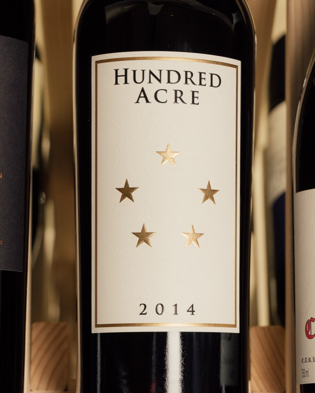Hundred Acre Vineyard Cabernet Sauvignon Ark Vineyard 2014