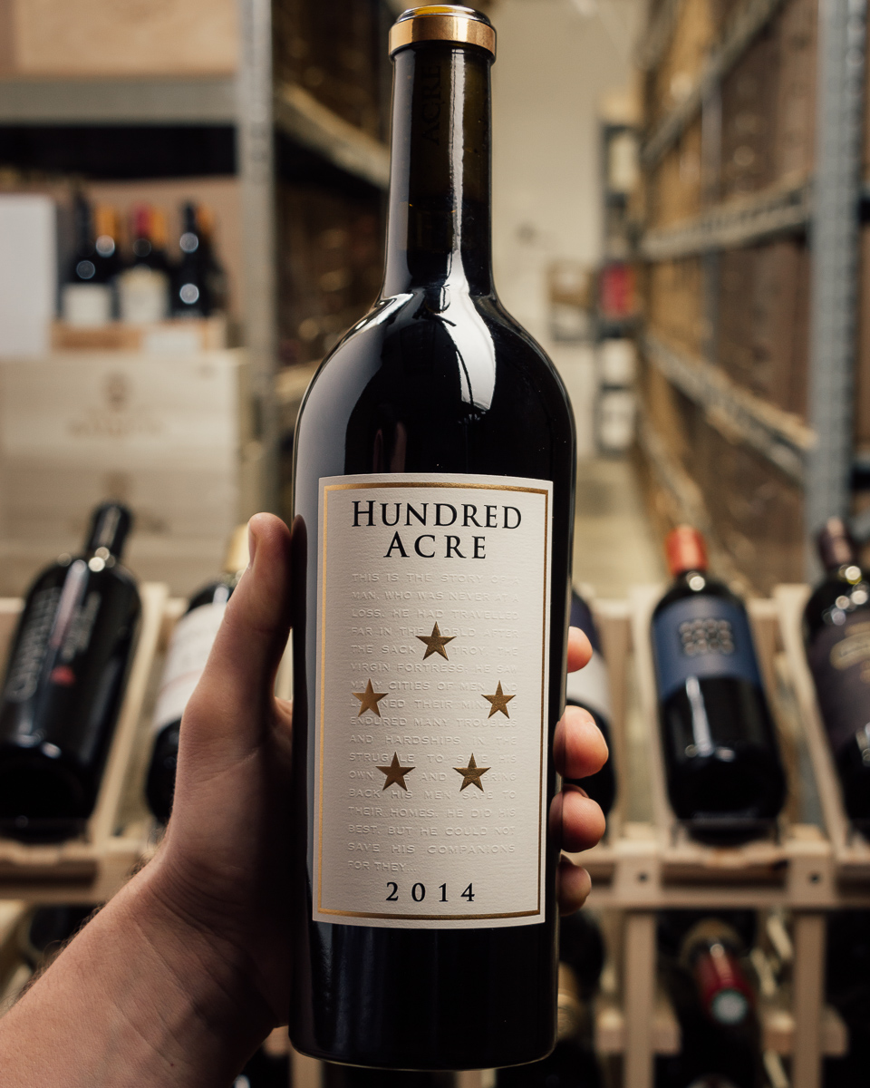 Hundred Acre Vineyard Cabernet Sauvignon Ark Vineyard 2014  - First Bottle