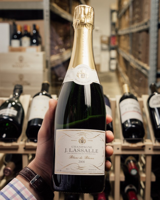 J. Lassalle Blanc de Blancs 1er Cru 2008  - First Bottle