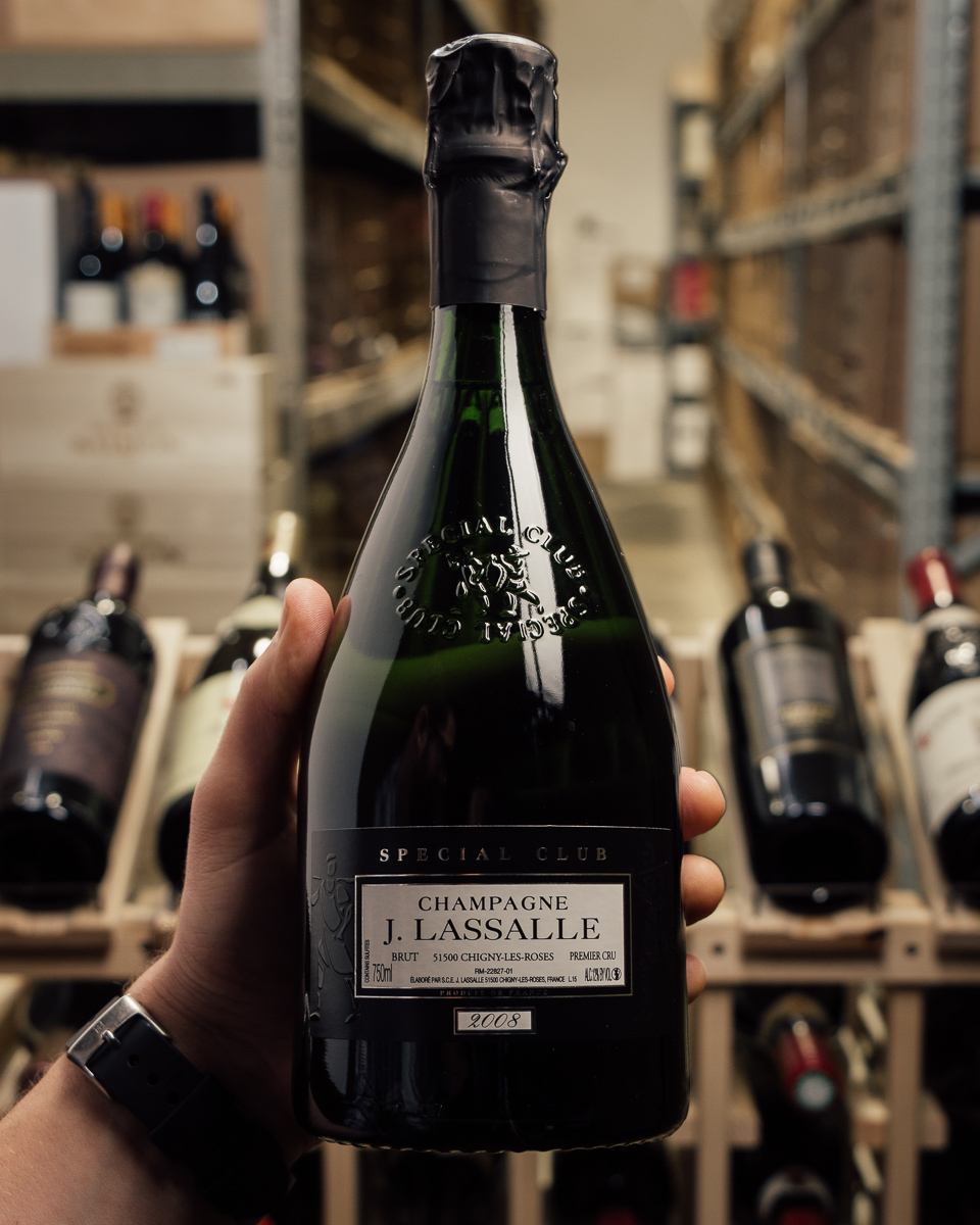 J. Lassalle Special Club Brut 1er Cru 2008  - First Bottle