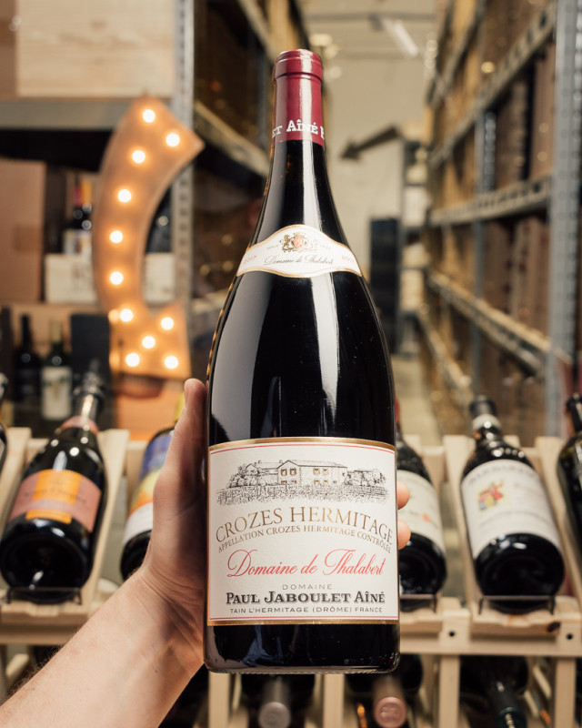 Jaboulet Domaine de Thalabert Crozes Hermitage 2017 (Magnum 1.5L)  - First Bottle